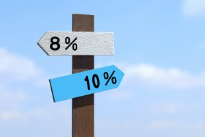 消費税率8%で年払いしたが後日消費税10%への引上差額分を支払ったときの会計処理は?